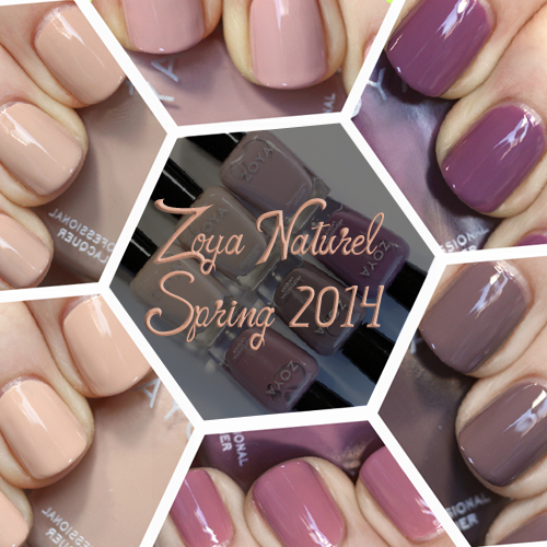 Zoya Naturel For Spring 2014