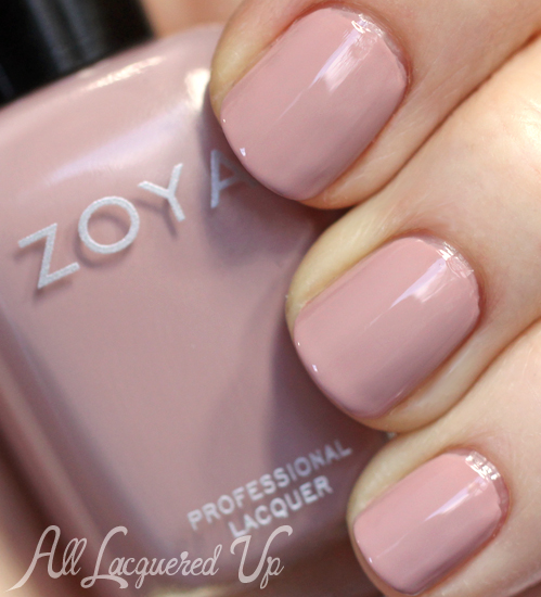 Zoya Rue nail polish from Zoya Naturel