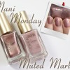 #ManiMonday – Muted Marble Nail Art with L'Oreal Paris Collection Privée