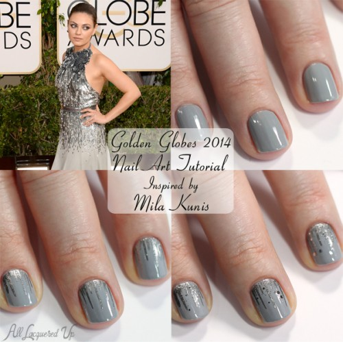 Golden Globes Nail Art Tutorial