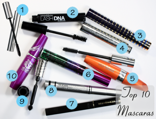 Top 10 Mascaras for short, straight lashes