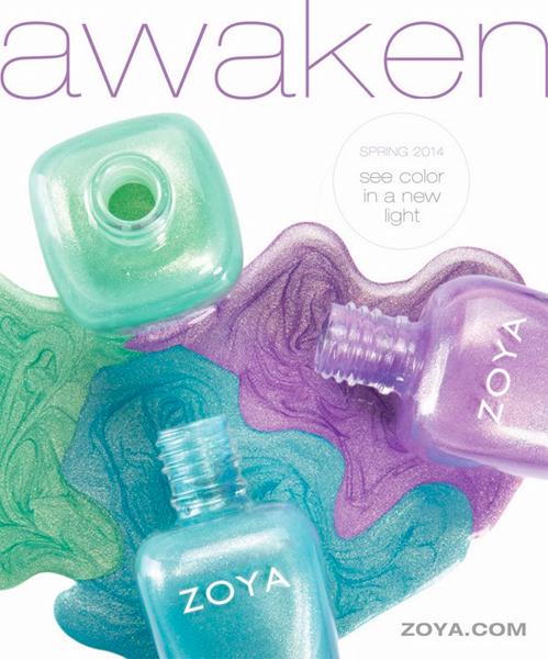 Zoya Awaken Spring 2014