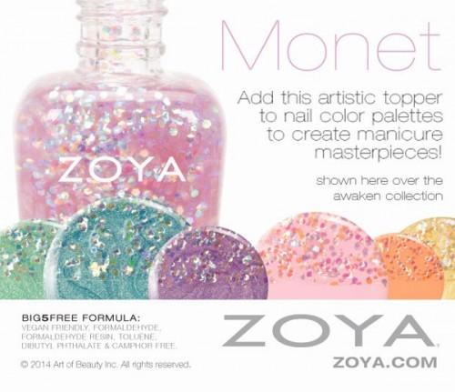Zoya Monet Spring 2014
