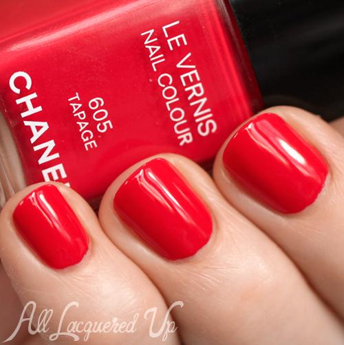 Chanel Tapage nail polish Spring 2014