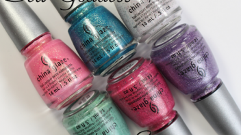 China Glaze Sea Goddess for Spring 2014 – Swatches & Review