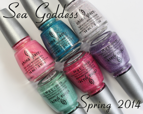 China Glaze Sea Goddess for Spring 2014