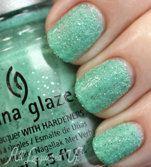 China Glaze Teal The Tide Turns from Sea Goddess