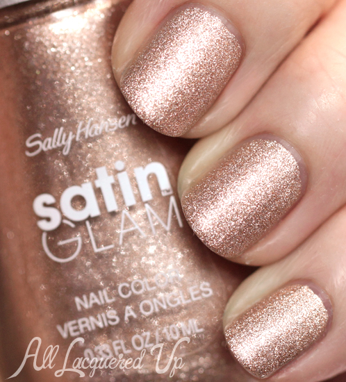 Sally Hansen Satin Glam Go Gold