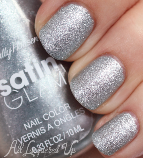 Sally Hansen Satin Glam Metal Iced