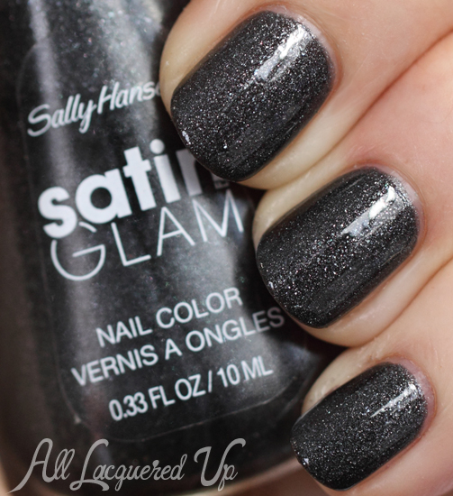 Sally Hansen Satin Glam Silk Onyx - Glossy