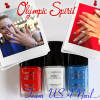 Olympic Spirit – Nail Art Inspired by COVERGIRL Gracie Gold