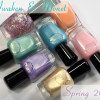 Zoya Spring 2014 – Awaken and Monet Swatches & Review