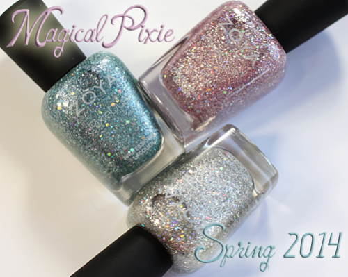 Zoya Magical Pixie PixieDust for Spring 2014