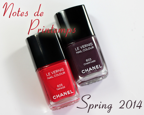 chanel charivari tapage ffrom chanel spring 2014 notes de printemps