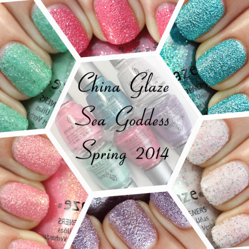 China Glaze Spring 2014 Sea Goddess