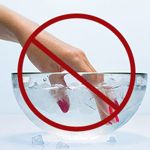 Myth - Dry Nails In An Ice Bath