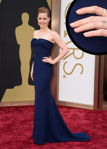 Amy Adams Oscars 2014 nails