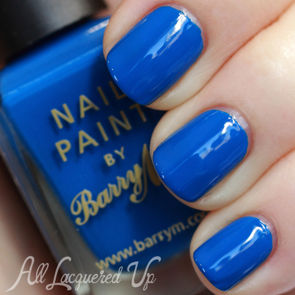 BarryM Cobalt Blue swatch