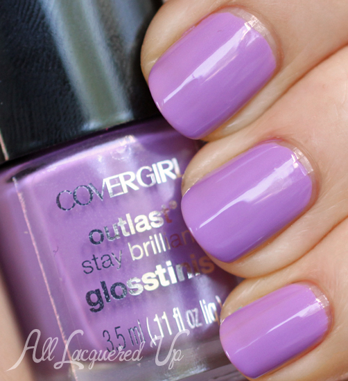 COVERGIRL Purple Freeze Glosstinis swatch