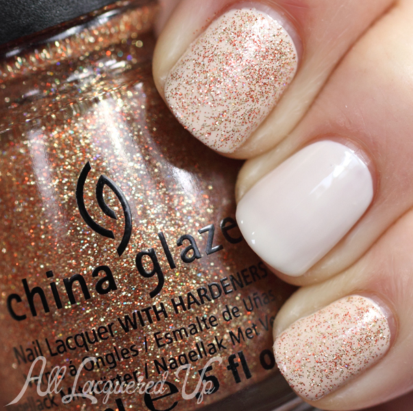 China Glaze I Herd That swatch
