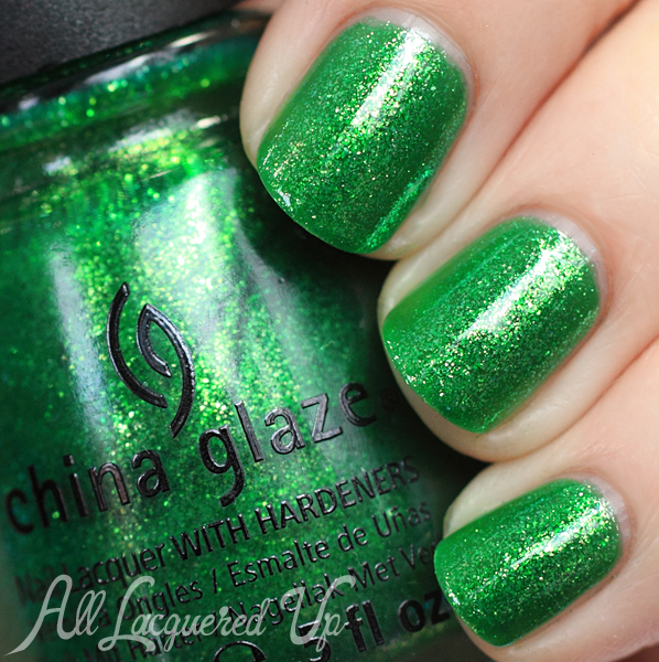 China Glaze Running In Circles swatch