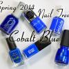 Spring 2014 Nail Trend – Cobalt Blue Nail Polish