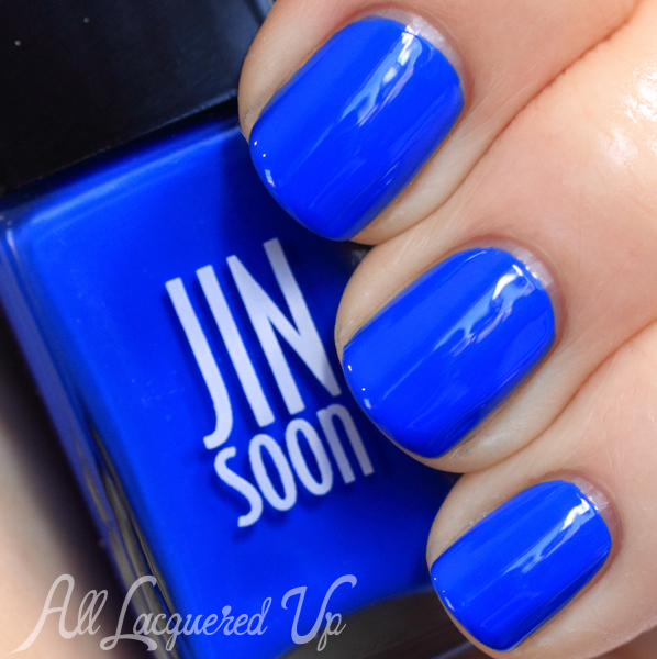 JINsoon Cool Blue swatch - Cobalt