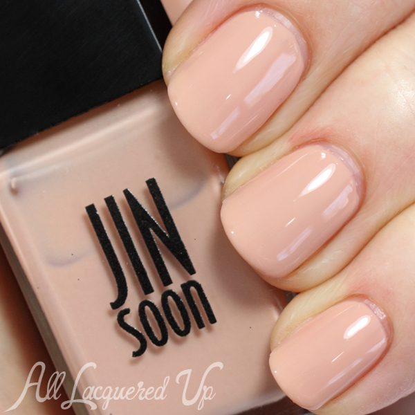 JINsoon Nostalgia nude nail polish swatch