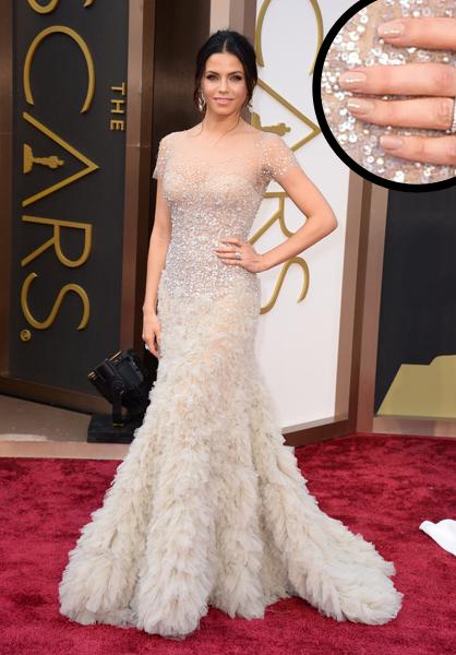 Jenna Dewan-Tatum Oscars 2014 nails