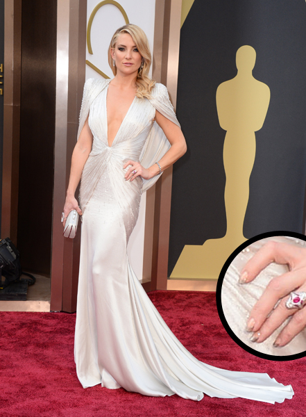 Kate Hudson Oscars 2014 nails