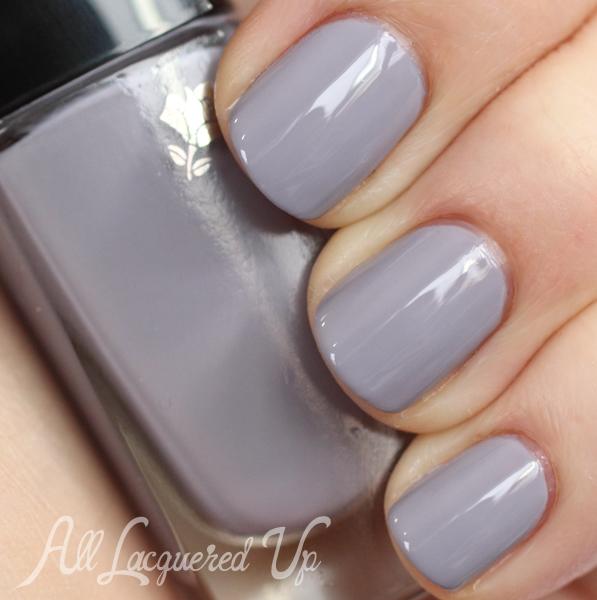 Lancome Gris Angora 407N nail polish swatch