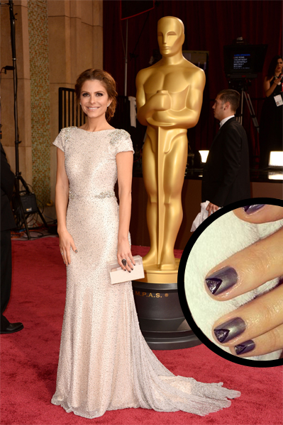 Maria Menounos Oscars 2014 nails