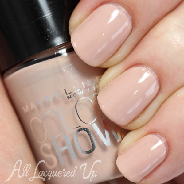 Maybelline Color Show Neutral Statement nude nail polish swatch