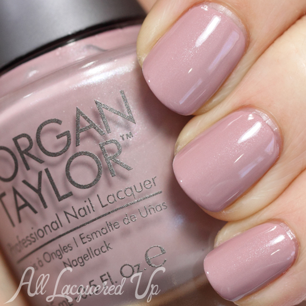 Morgan Taylor Perfect Match nude nail polish swatch