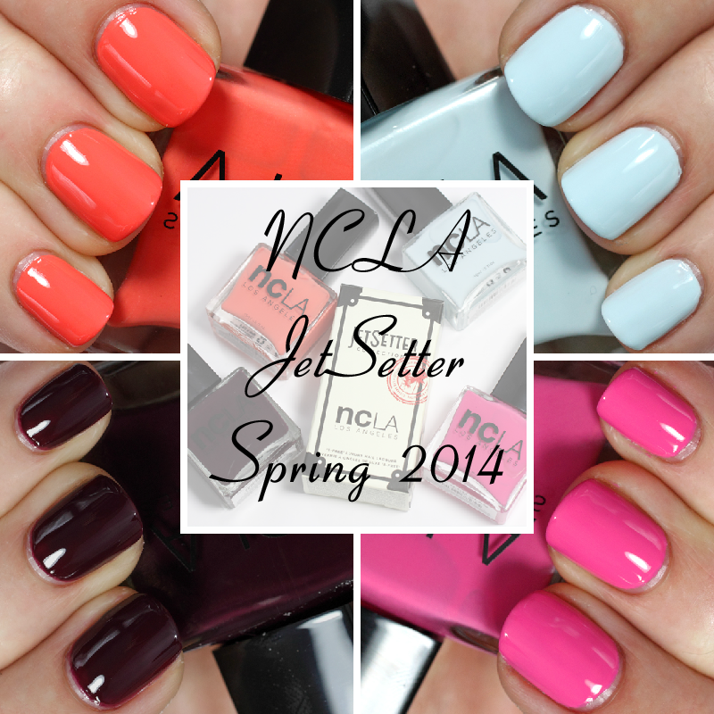 NCLA JetSetter Spring 2014 nail polish collection