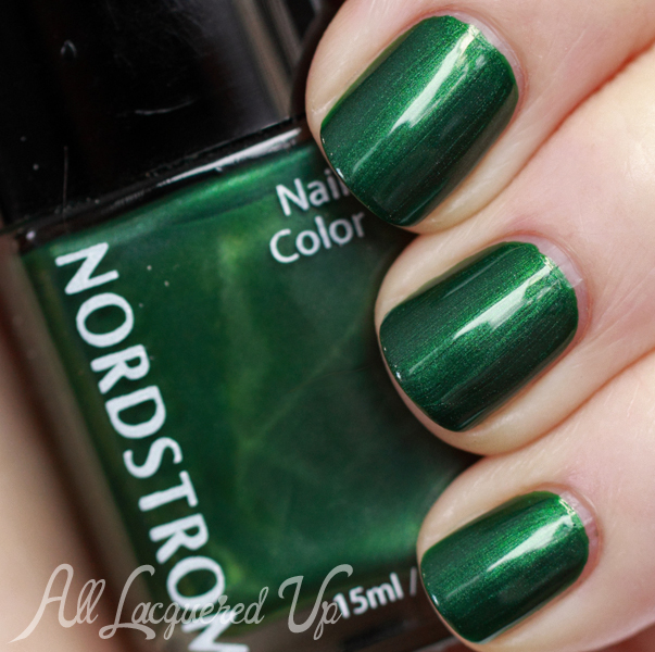 Nordstrom Lush Forest nail polish swatch