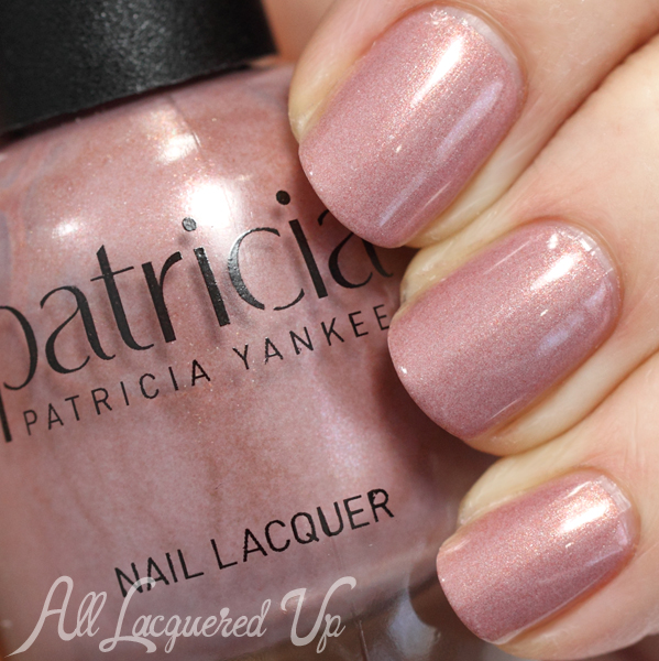 Patricia Beauty Nude Nail Polish Swatch