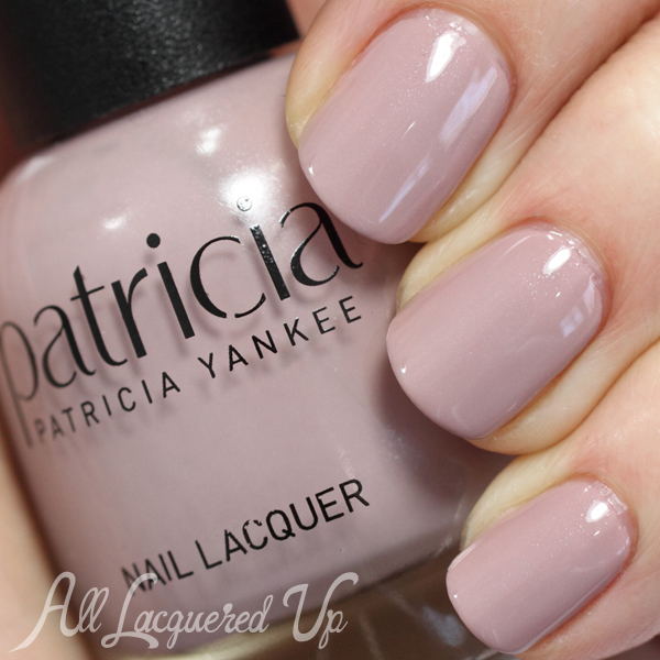 Patricia Flesh nude nail polish swatch