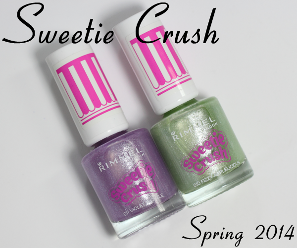 Rimmel Sweetie Crush texture nail polish