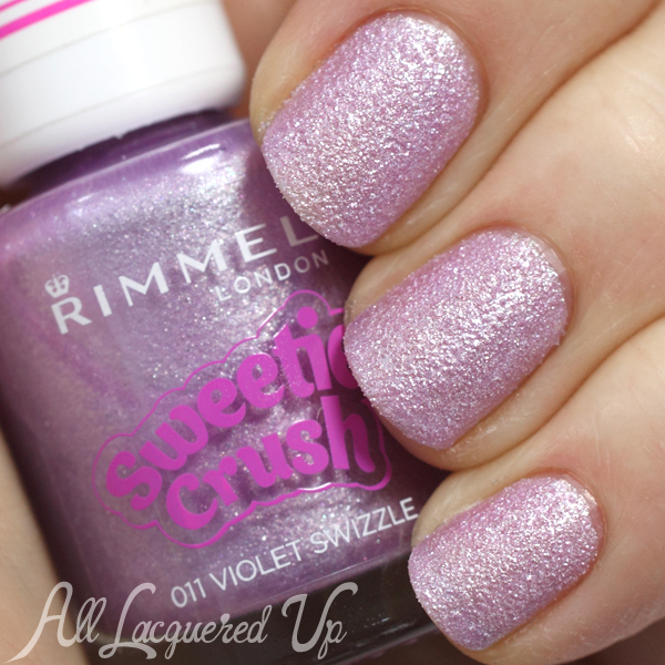 Rimmel Violet Swizzle swatch from Sweetie Crush