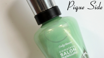 #ManiMonday – Sally Hansen Pique Side Swatch & Review