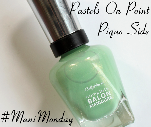 Sally Hansen Piqué Side for Spring 2014 #ManiMonday