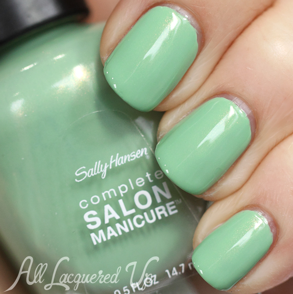 Sally Hansen Piqué Side swatch #ManiMonday