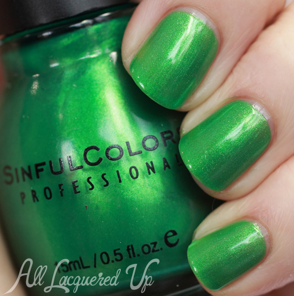 Sinful Colors HD Nails nail polish swatch