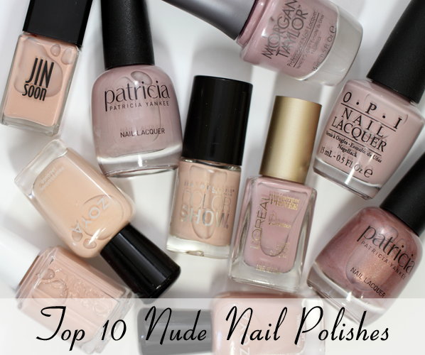 Top 10 Best Nude Nail Polish Shades