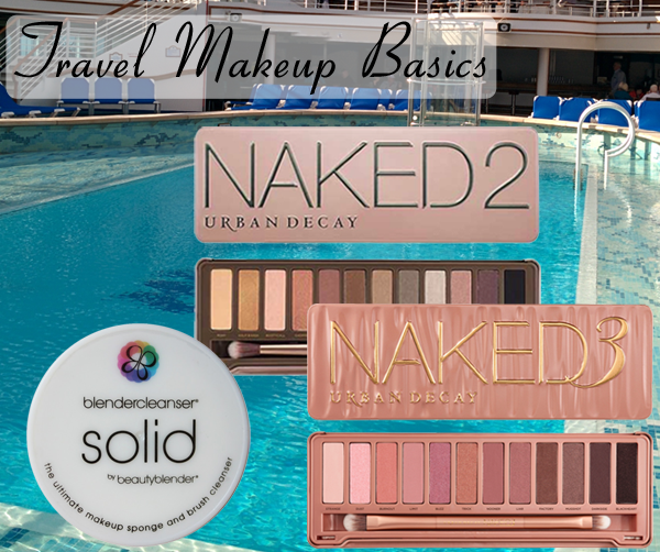 Travel Makeup - Palettes from Urban Decay Naked collection