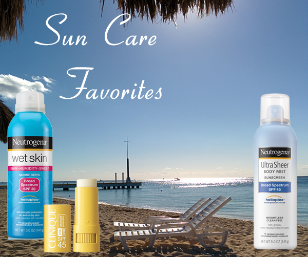 Travel - Sun Care Favorites from Neutrogena and Clinique Sunscreen Lines