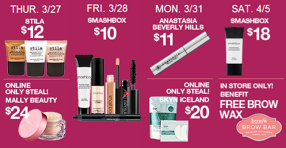 ULTA 21 Days of Beauty Spring 2014 - My Favorite Deals #ULTA21