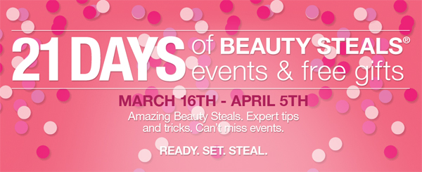 ULTA 21 Days of Beauty for Spring 2014