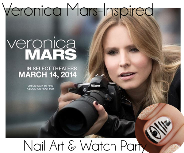 Veronica Mars Movie Nail Art #Mashmallows